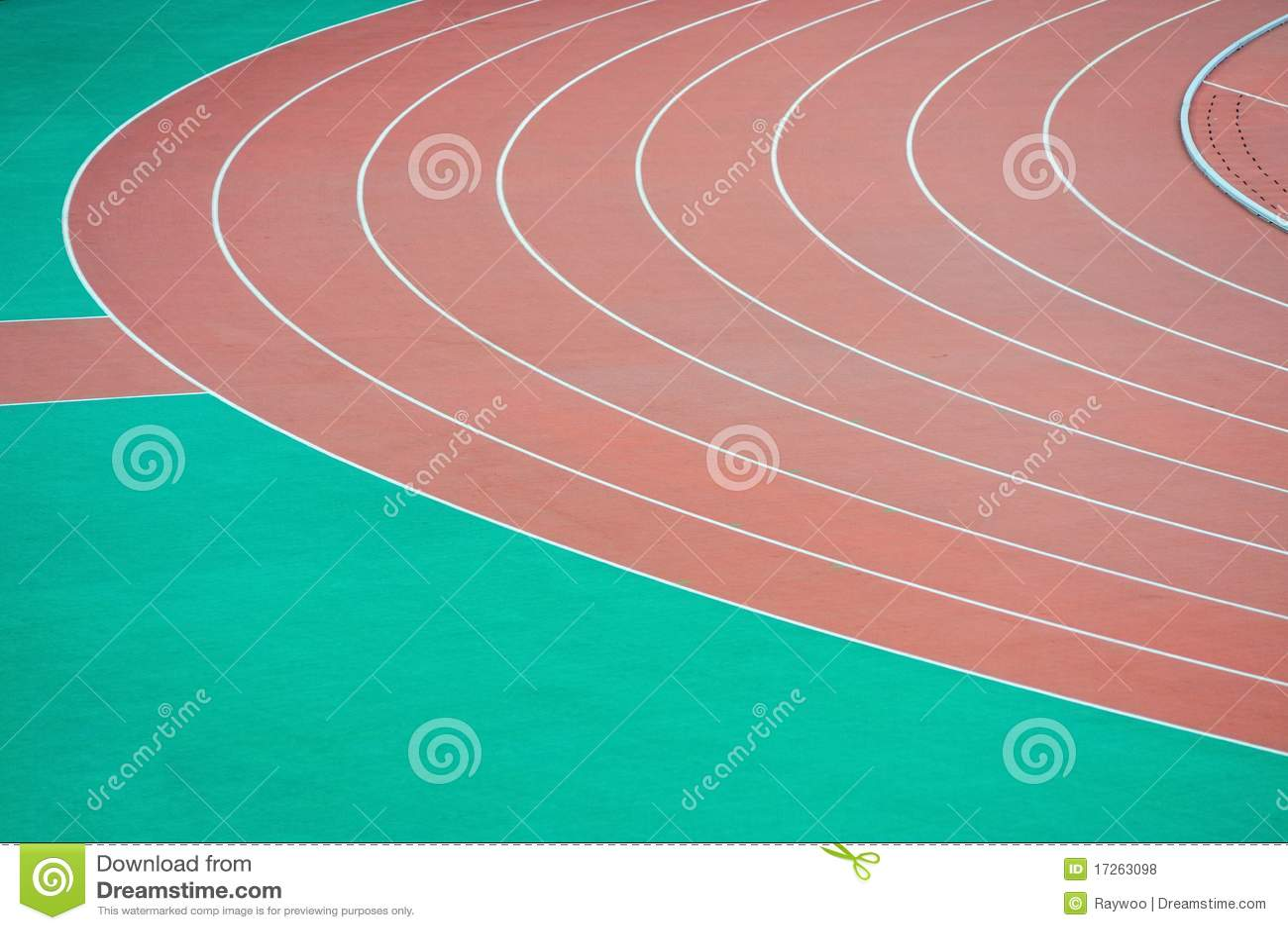 Running Track Clipart Athletics running track