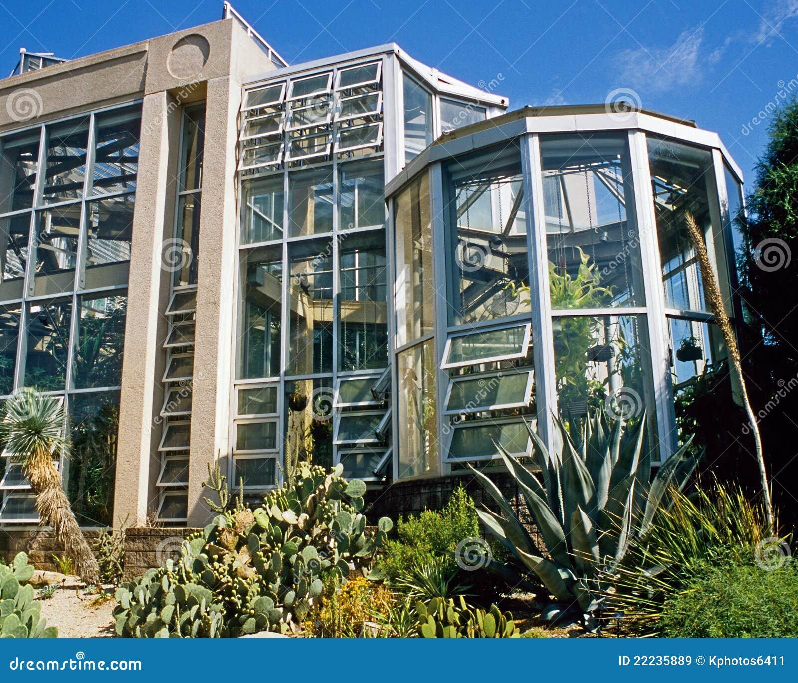 Atlanta Botanical Garden Storza Woods: Atlanta Botanical Garden Conservatory Stock Image
