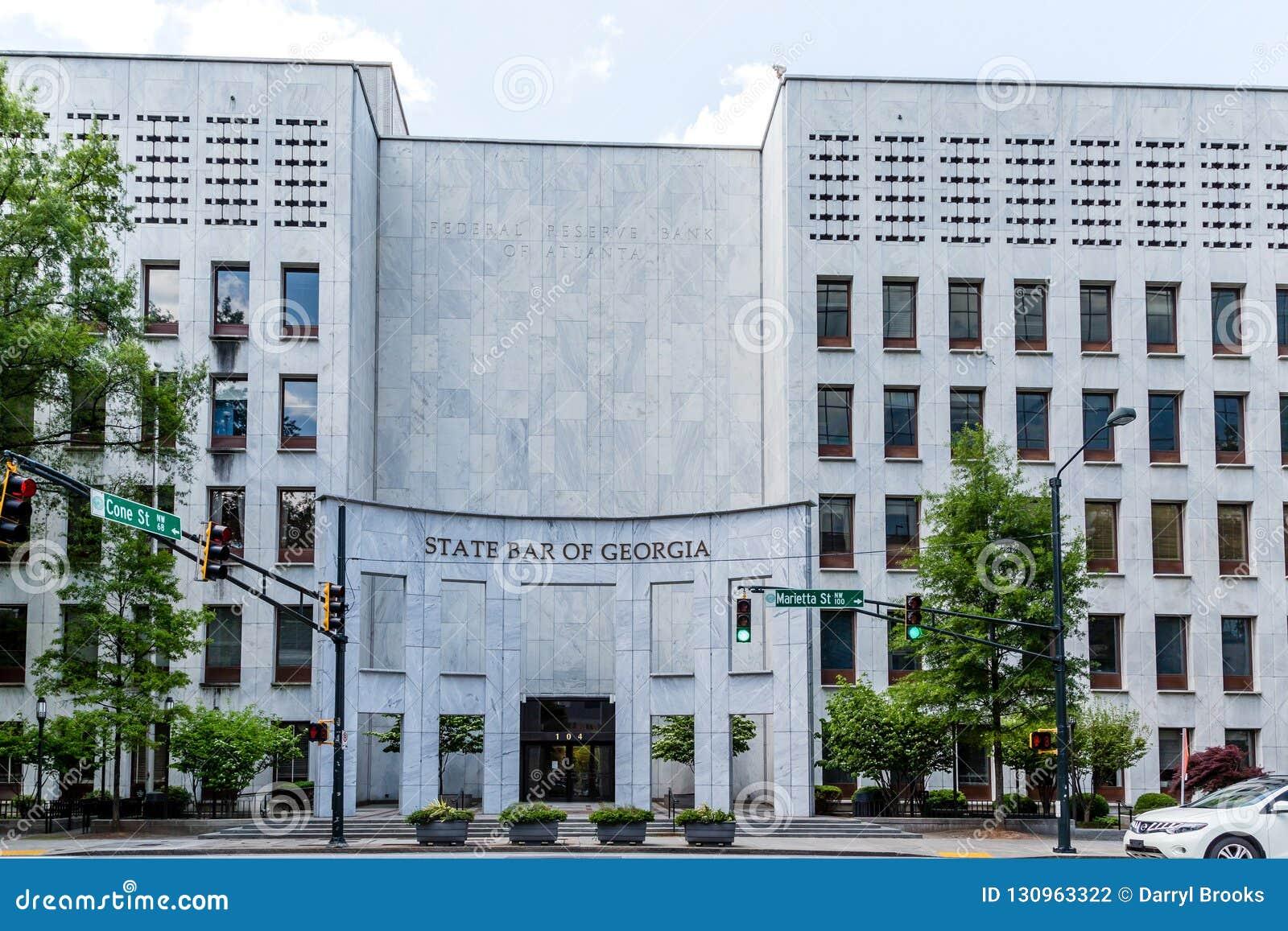 Federal Reserve Bank Atlanta Editorial Photography - Image