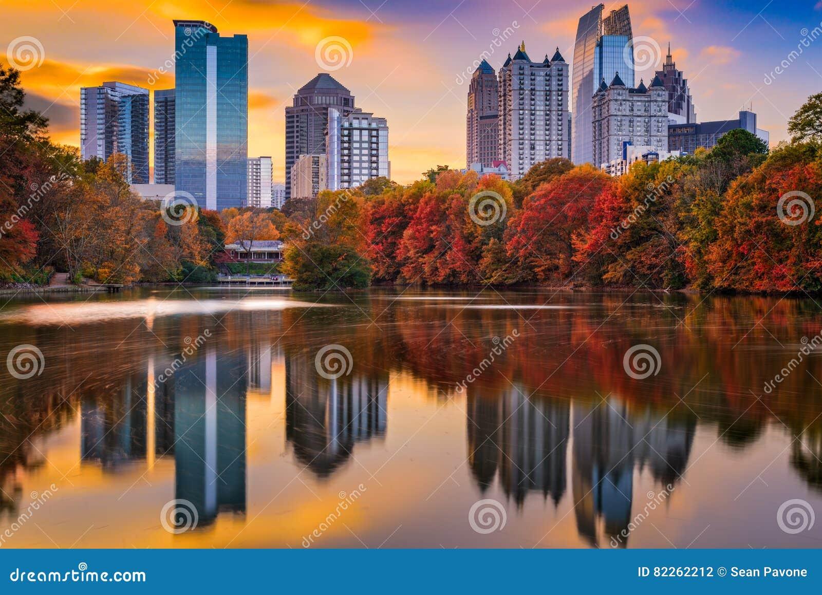 Atlanta Gruzja jesień