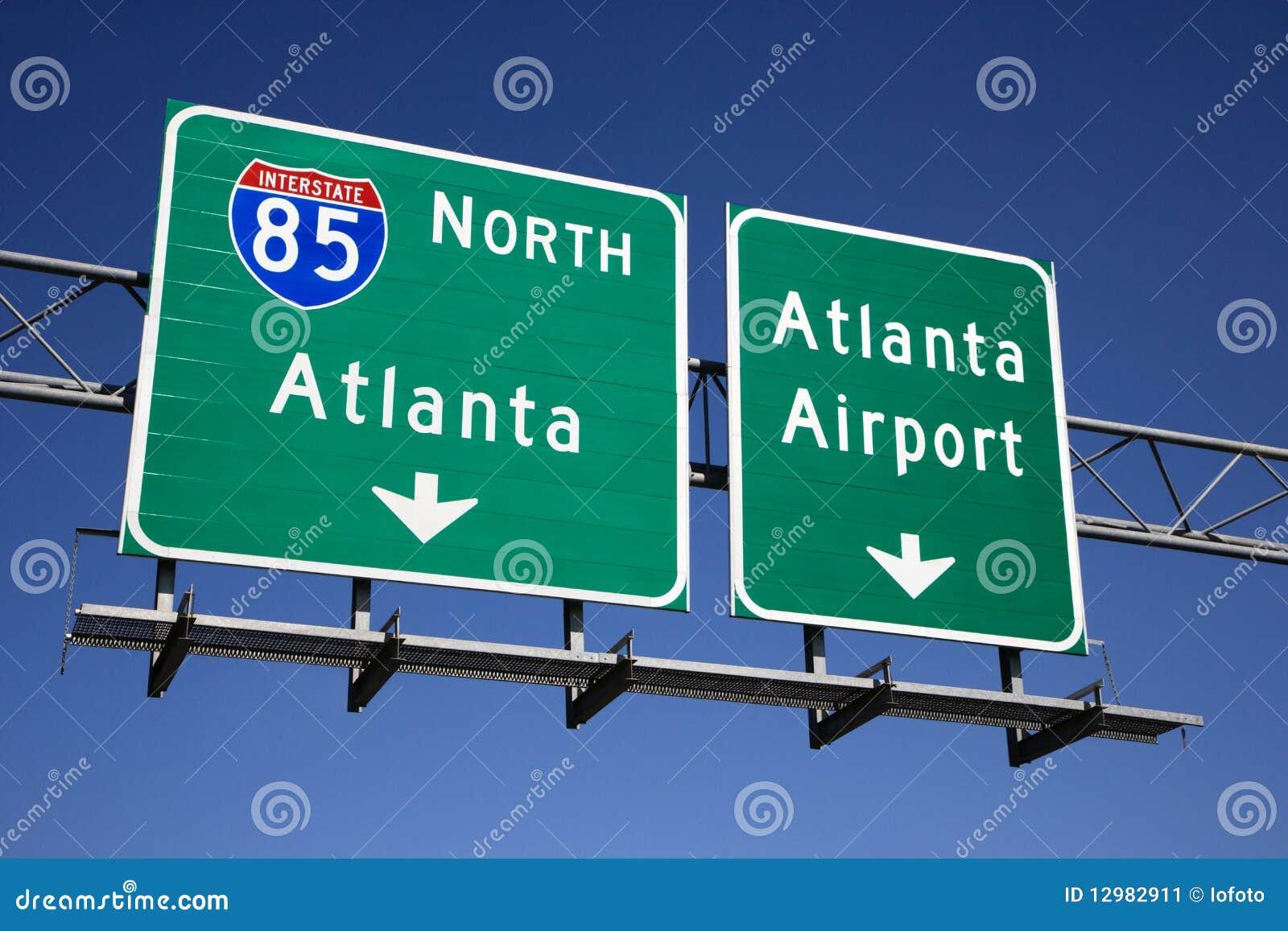 Atlanta motorvägtecken