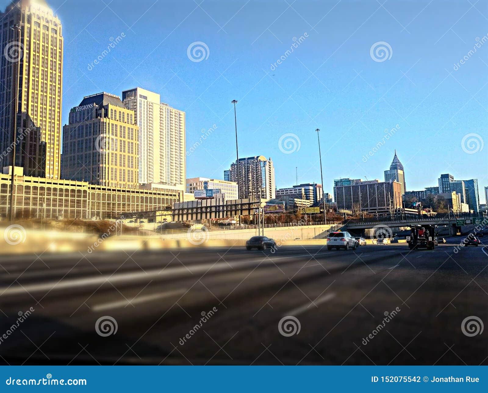 Atlanta pendant un tour de jour