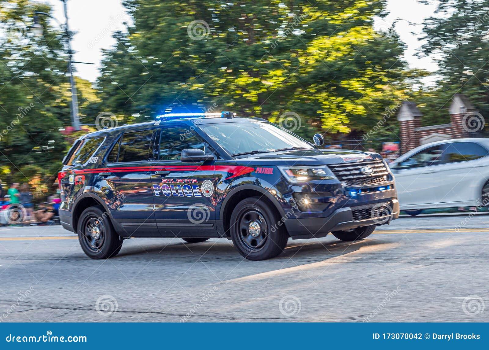 Atlanta Police Patrol Editorial Photography Image Of Fanboy 173070042