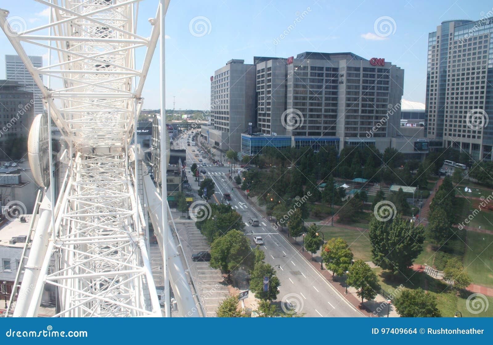 Atlanta vom skyview Riesenrad