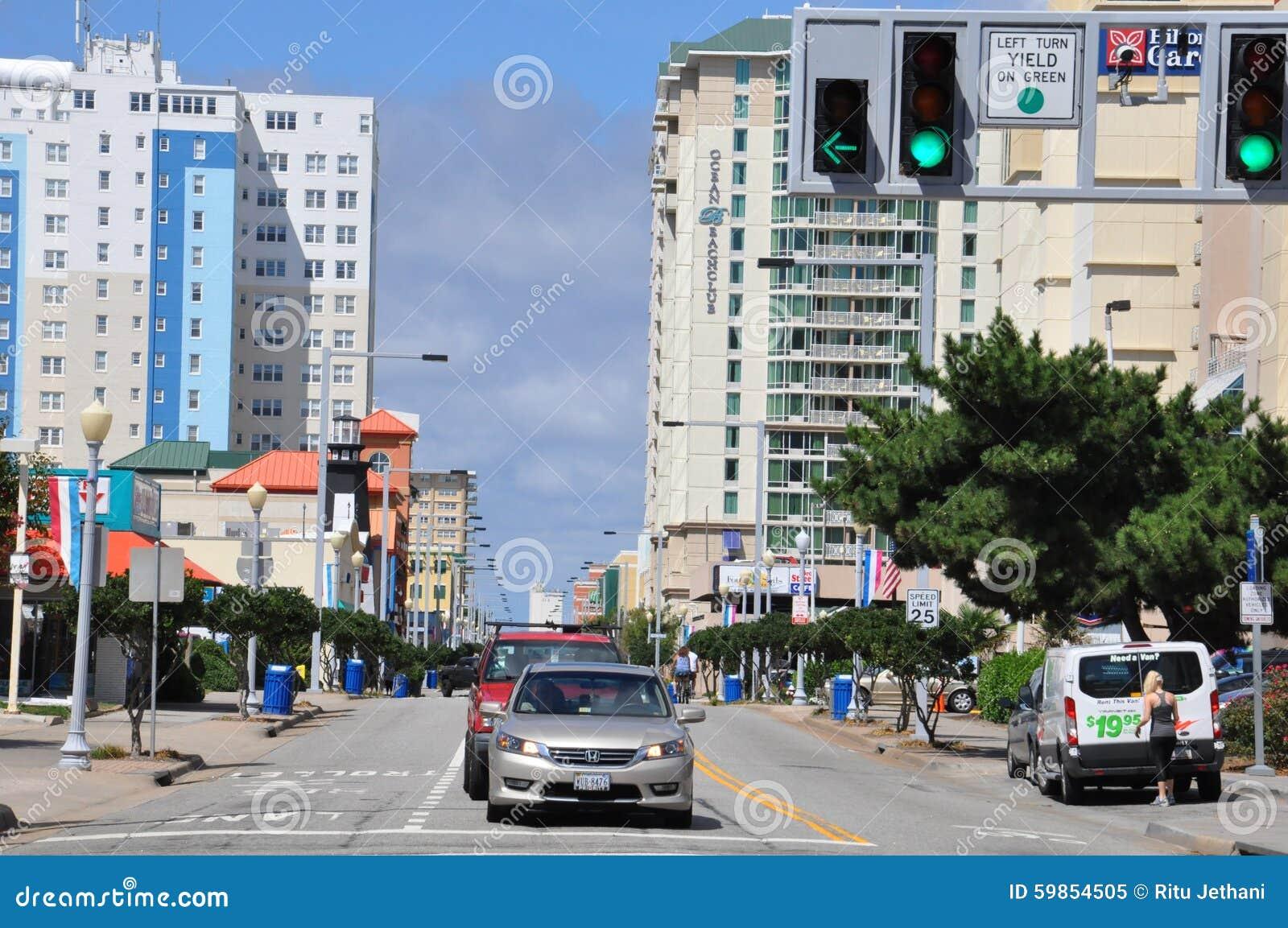 Atlantic avenue in virginia beach editorial image image for 530 terrace ave virginia beach