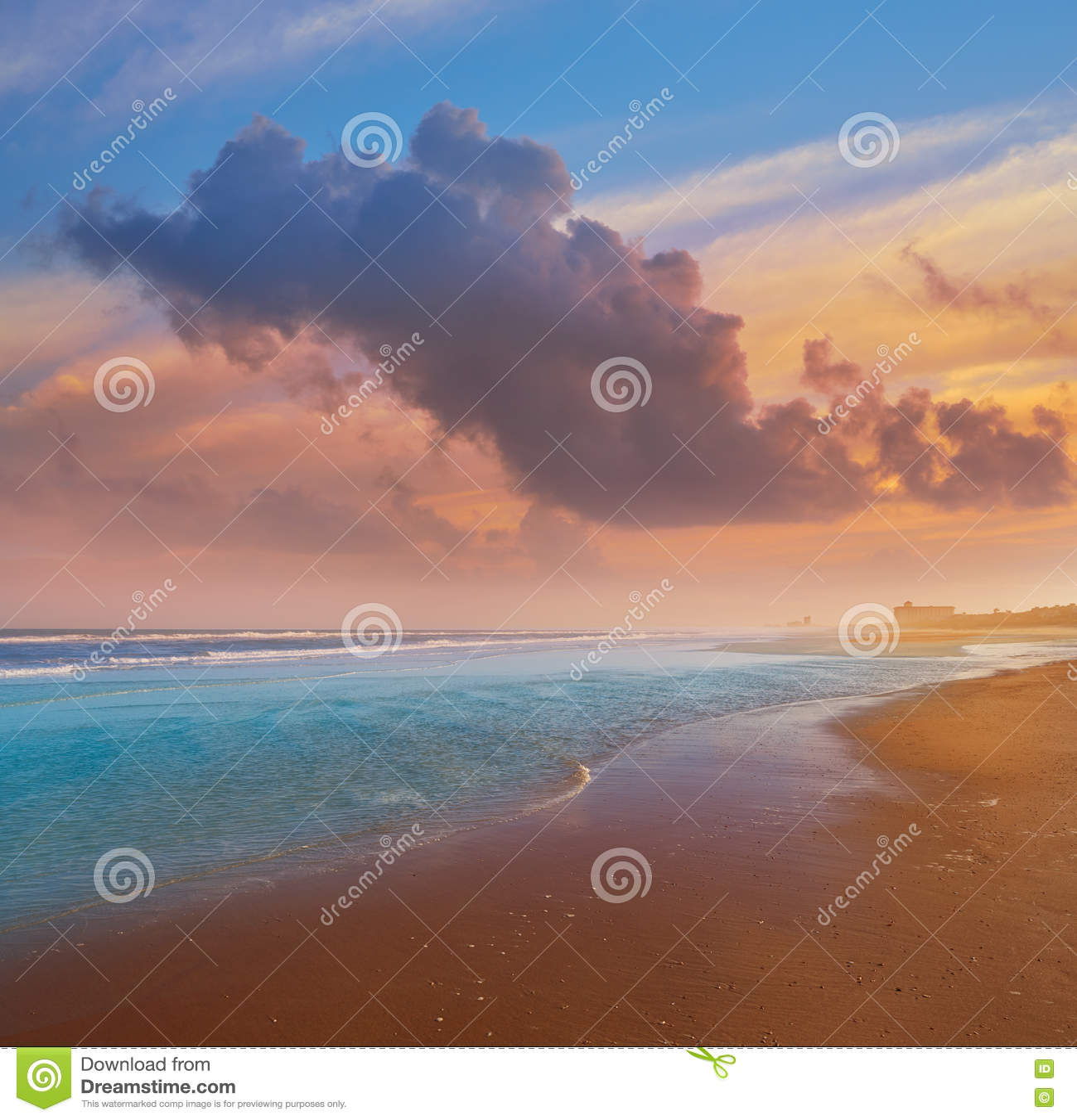 Atlantic Beach in Jacksonville of florida USA