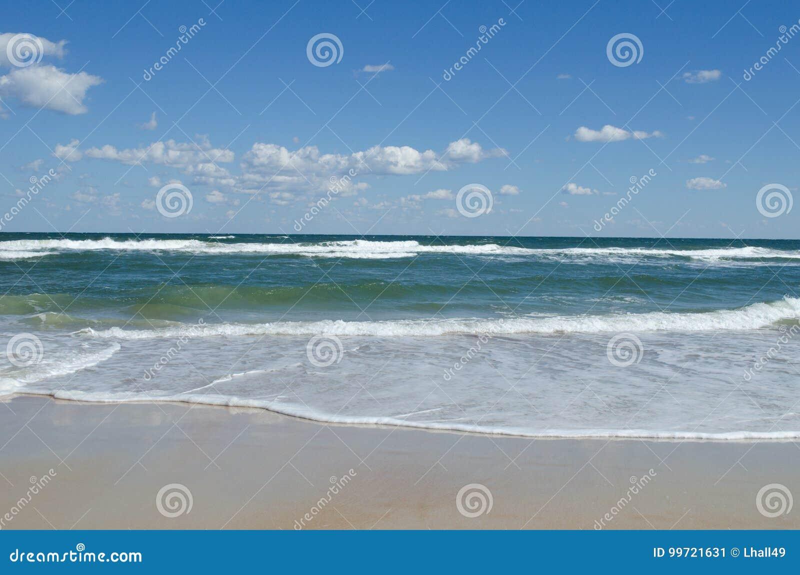 Atlantic ocean beach stock image image of space sunny 99721631 royalty free stock photo kristyandbryce Gallery
