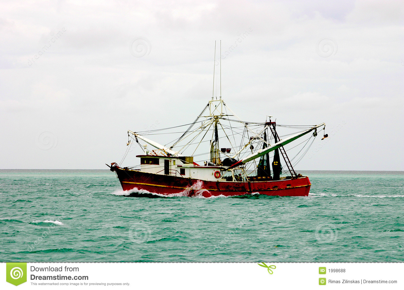 Atlantic Shrimp Boat Royalty Free Stock Photos - Image ...
