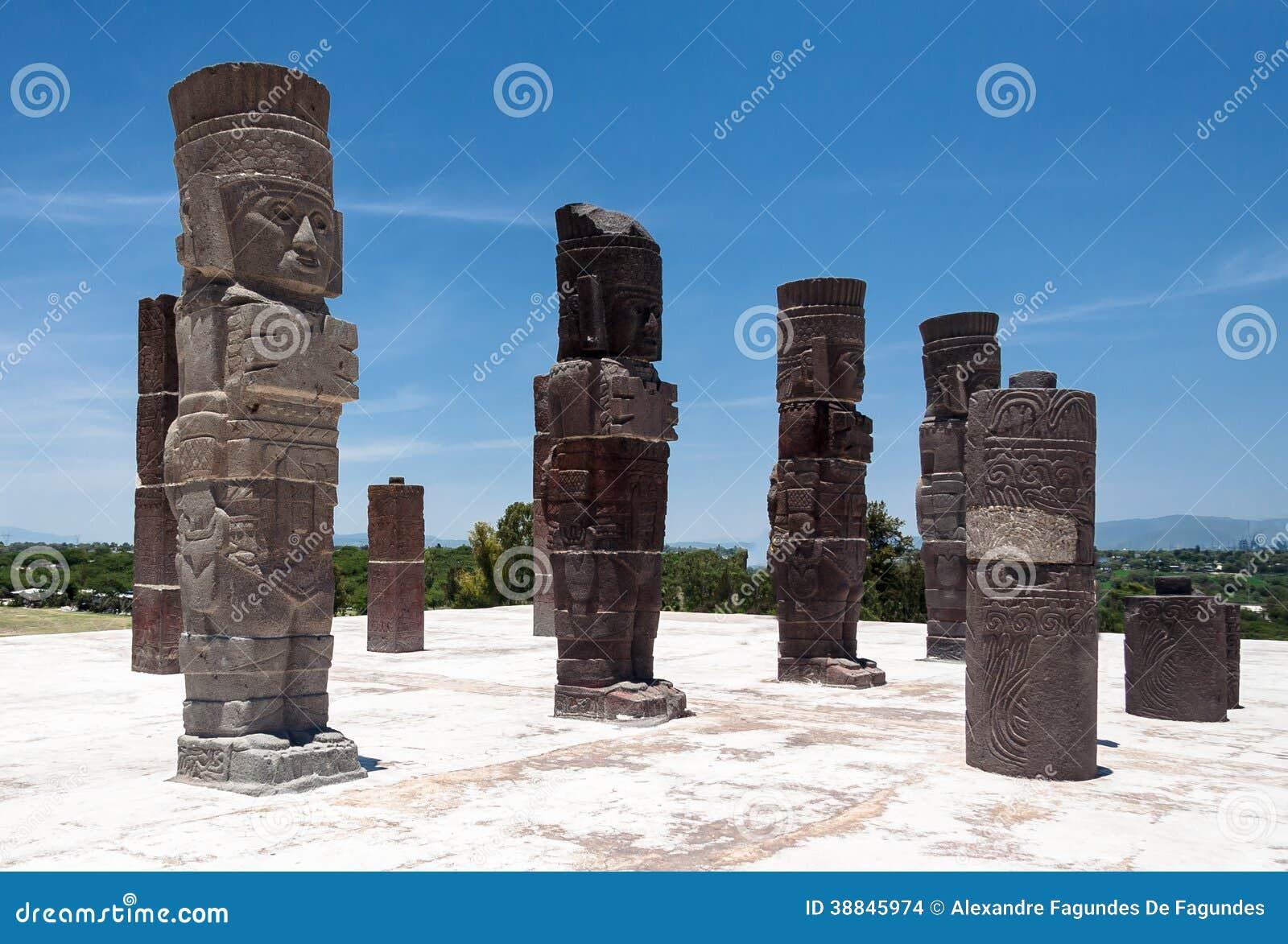 Atlantis em Tula Mexico