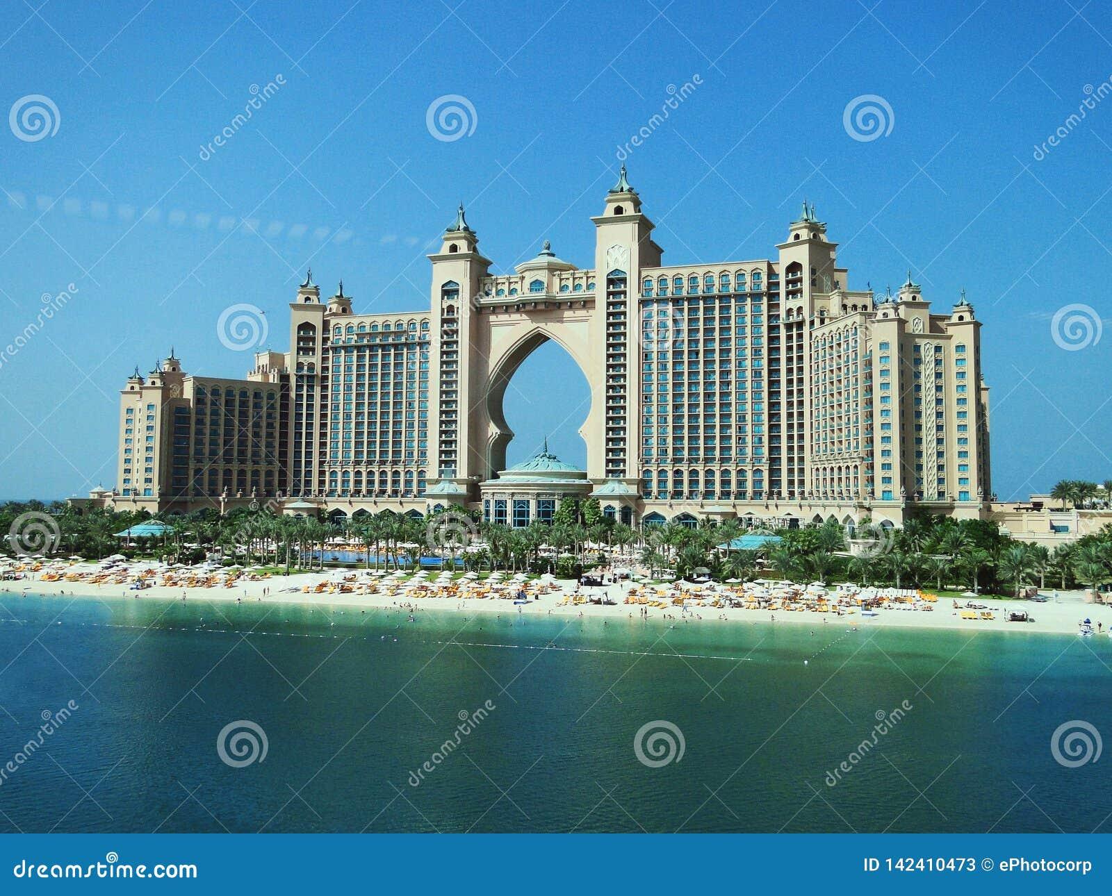 Atlantis gömma i handflatan, Dubai, Förenade Arabemiraten