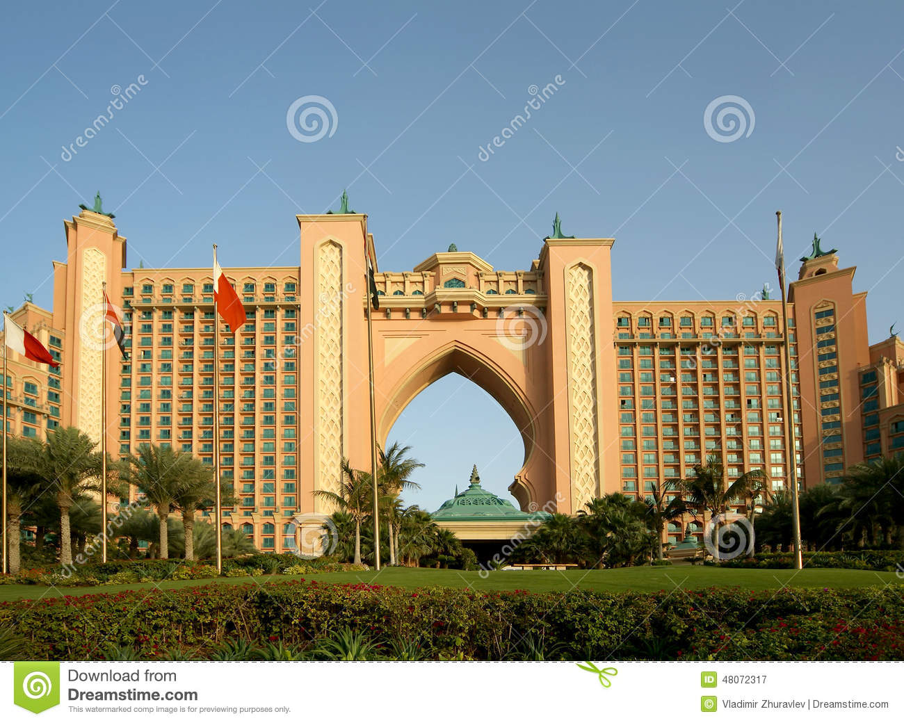 Atlantis hotel palm jumeirah dubai united arab emirates for Hotel dubai palm