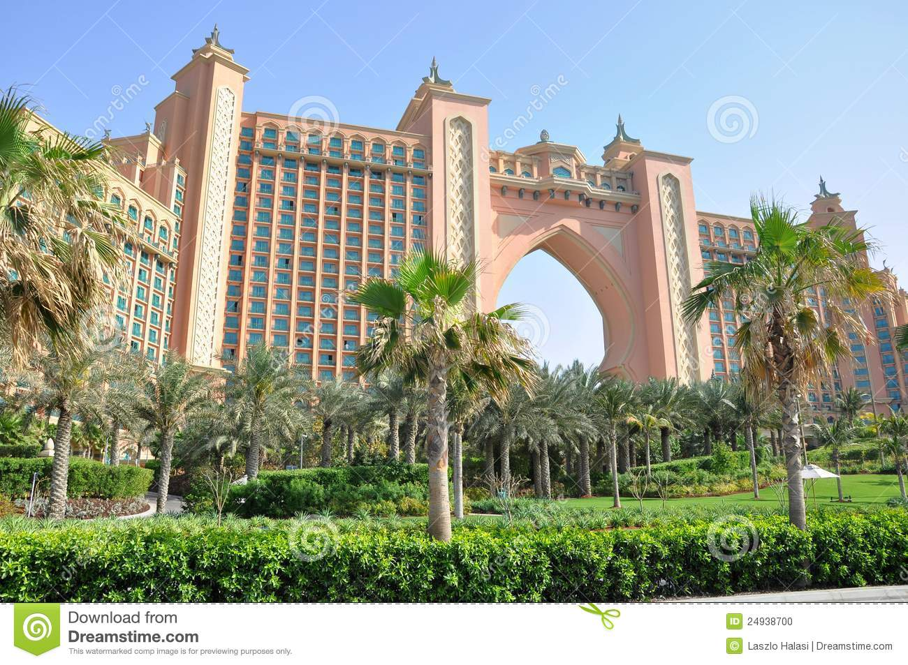 Atlantis the palm hotel in dubai stock photo image for Hotel dubai palm