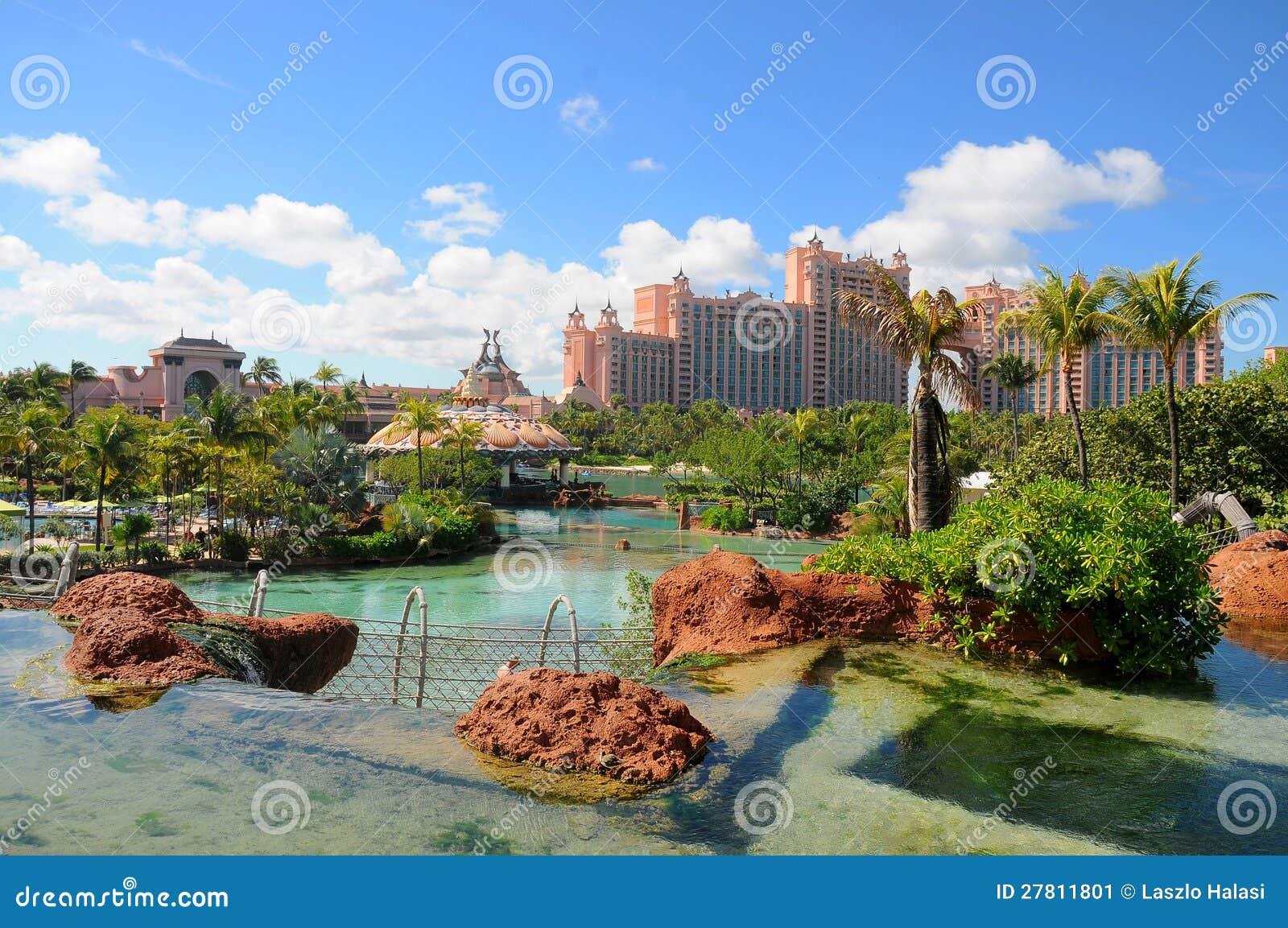 Atlantis Paradise Island Bahamas Stock Image Image Of Paradise Expensive 27811801