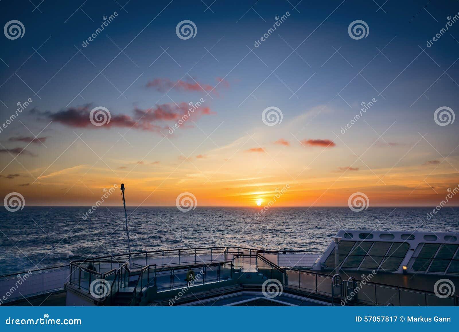 Atlantische Zonsondergang