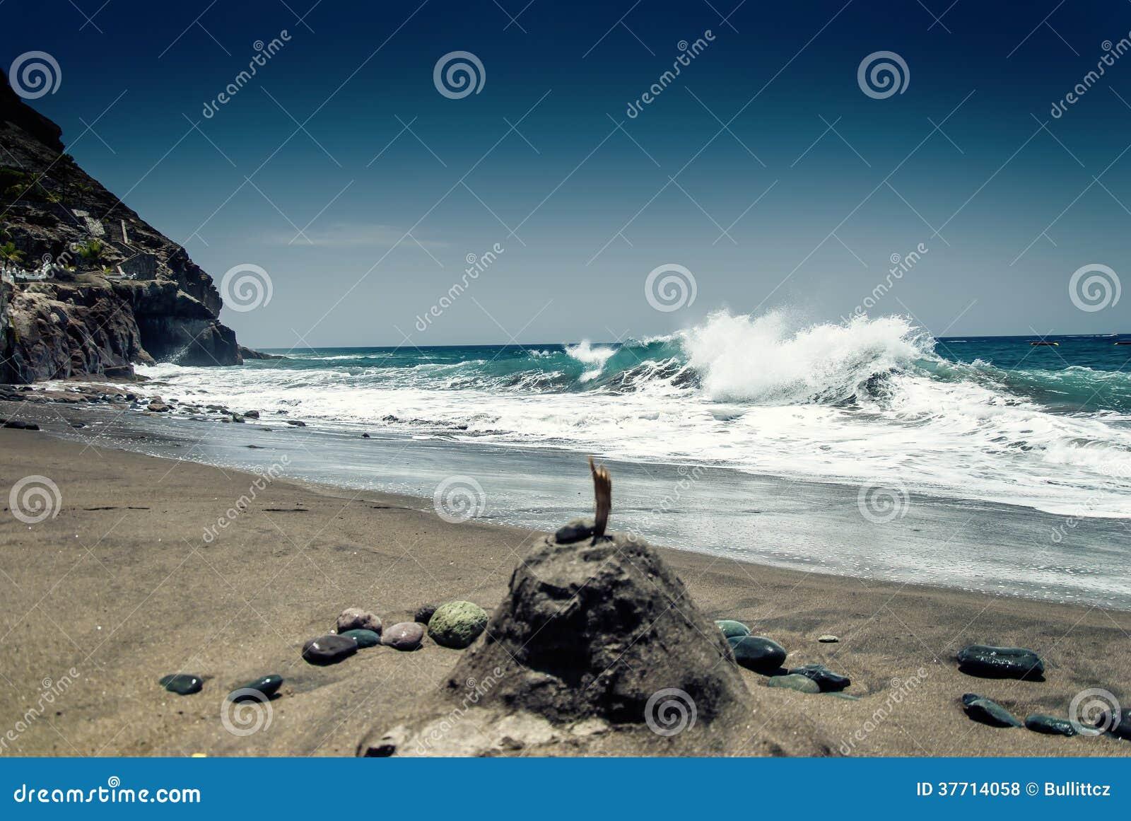 Atlantycka ocean fala