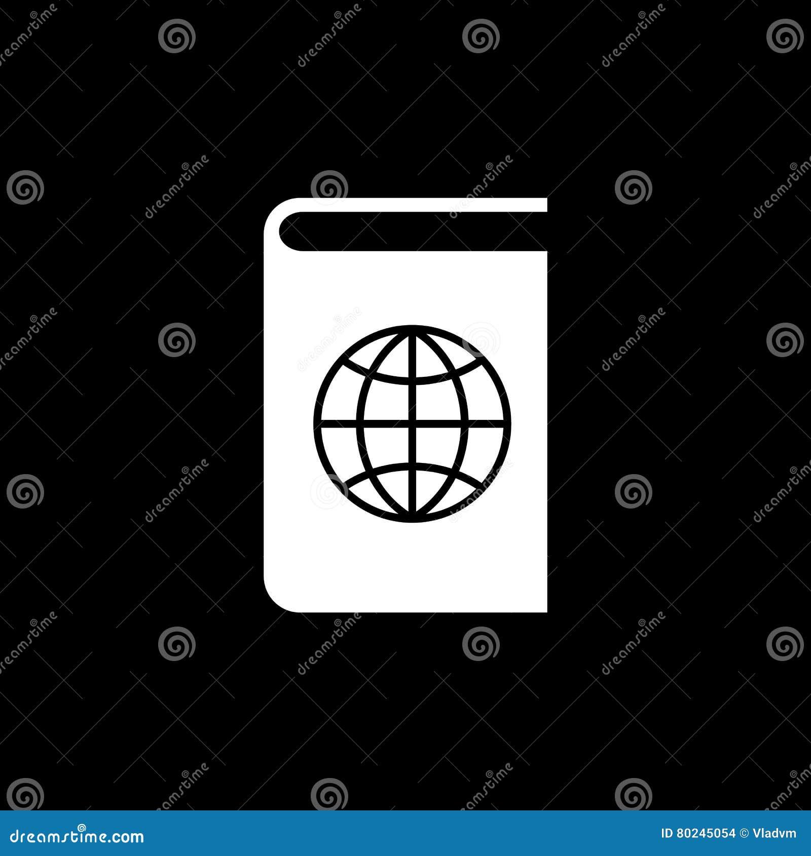 Atlas And Globe Icon Vector Design Geography Atlas Symbol Web