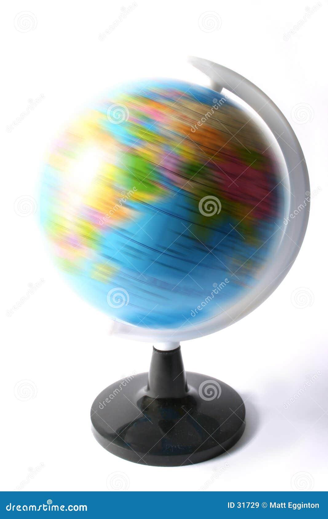 Atlas globu kręcenia polityczny