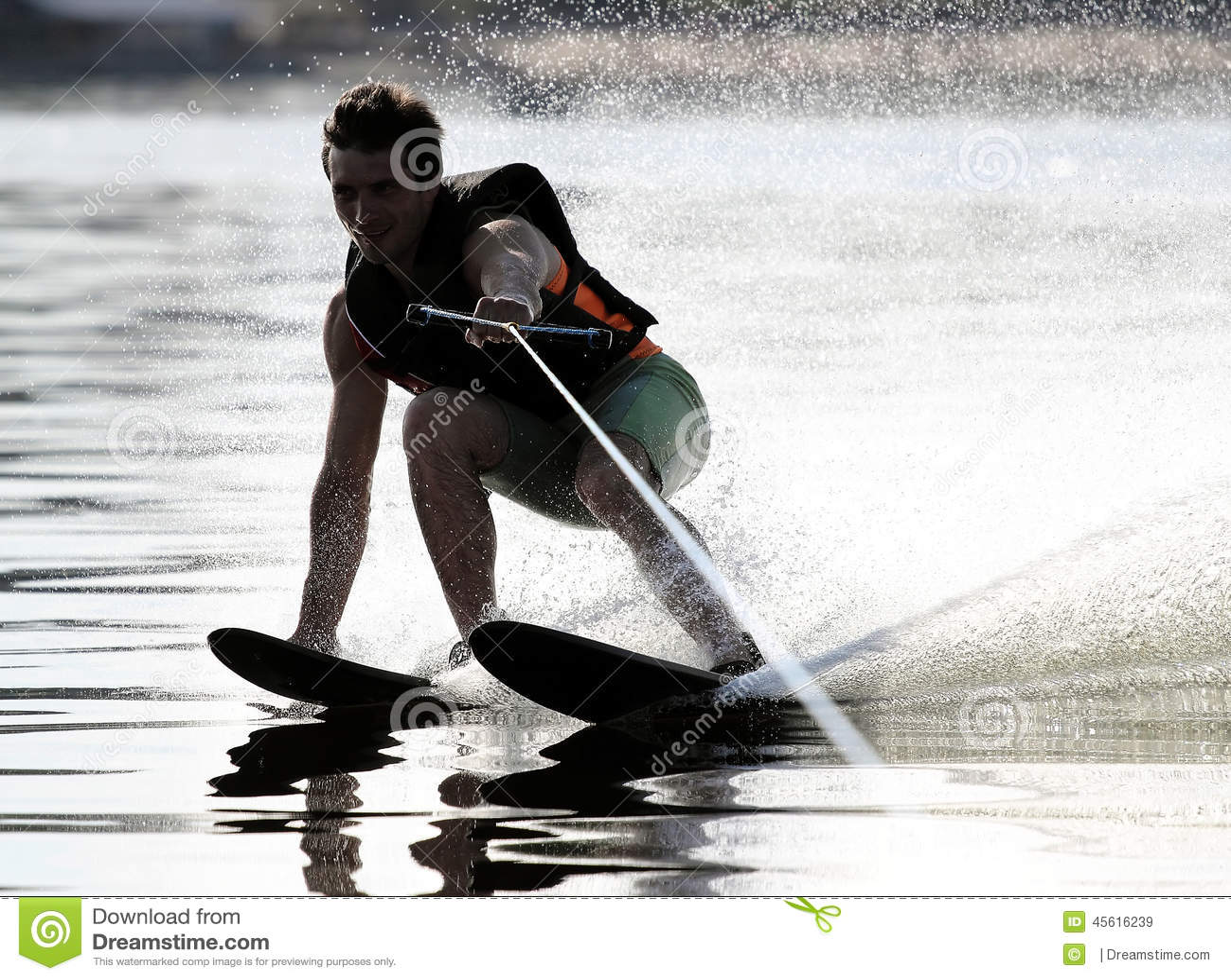 Atletenwaterskiën