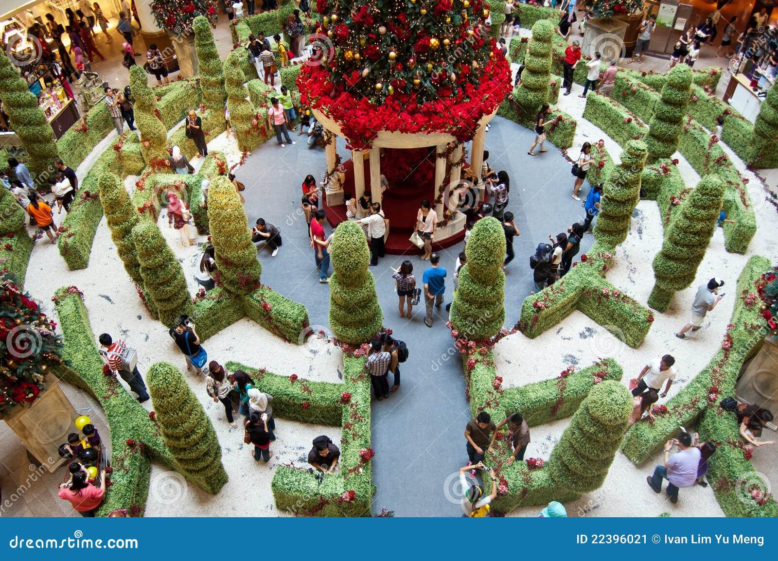 Atmósfera De La Navidad En Malasia Foto Editorial Imagen De Navidad Malasia 22396021