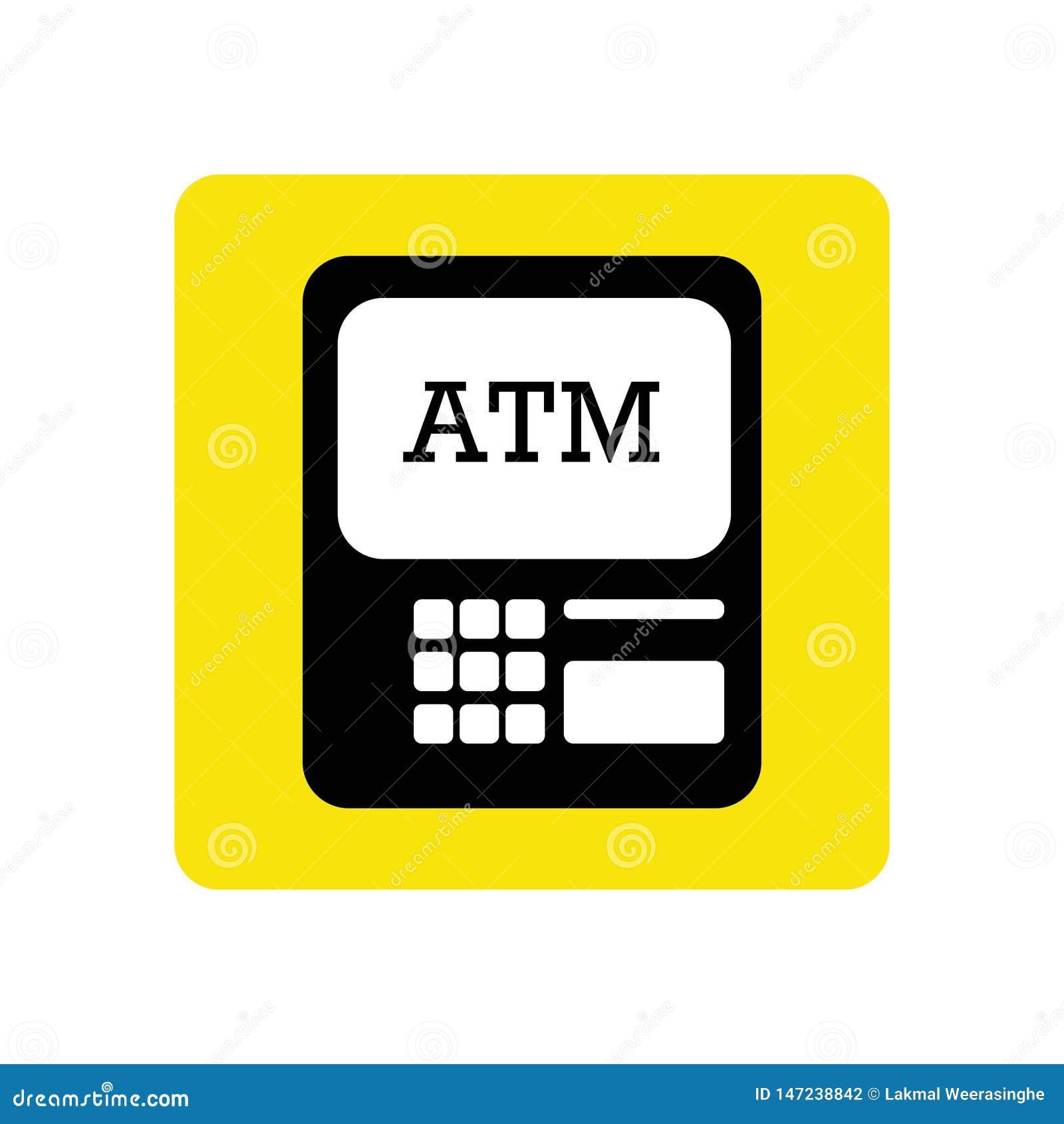ATM由例证的象图画