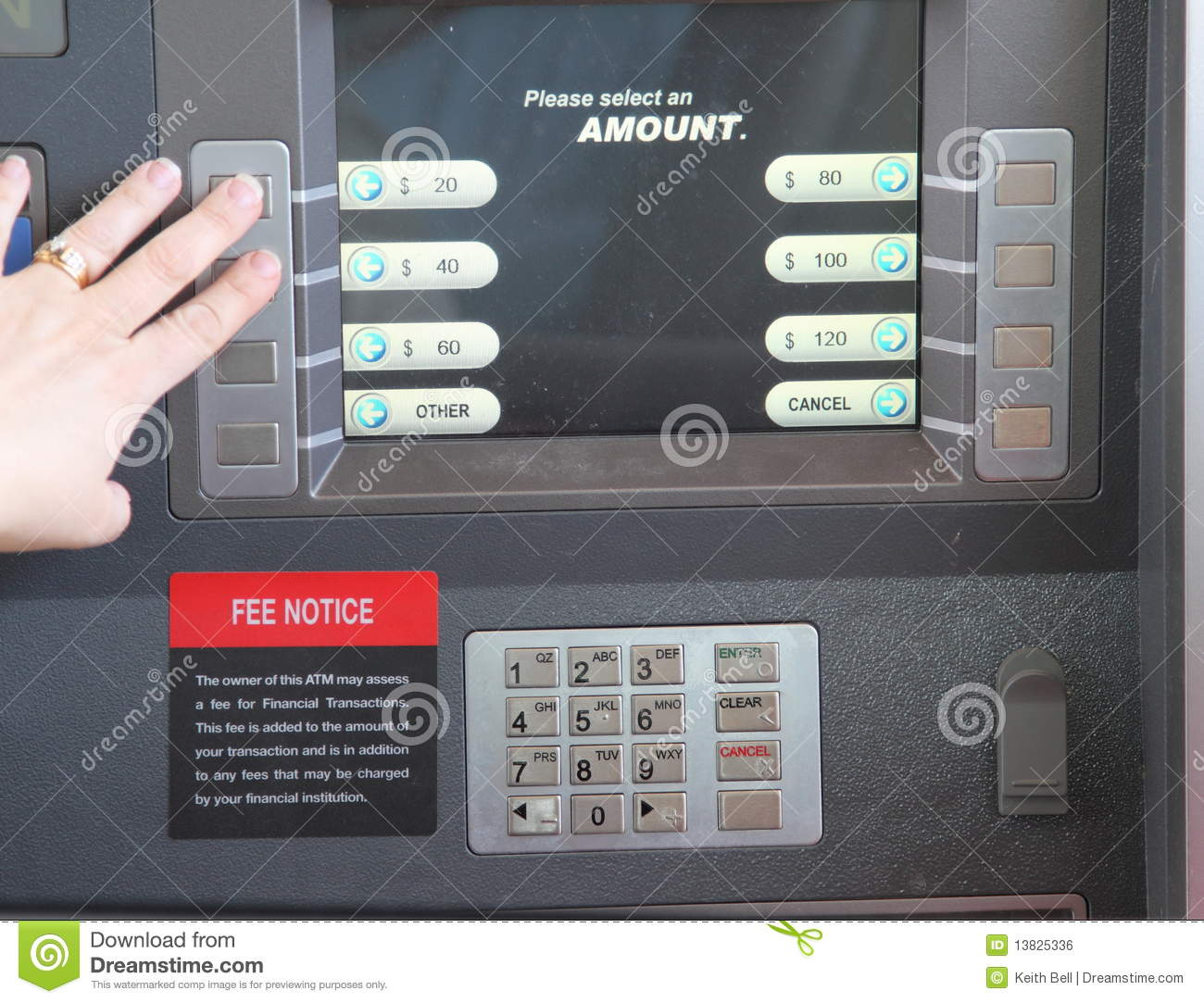 how to get an atm machine