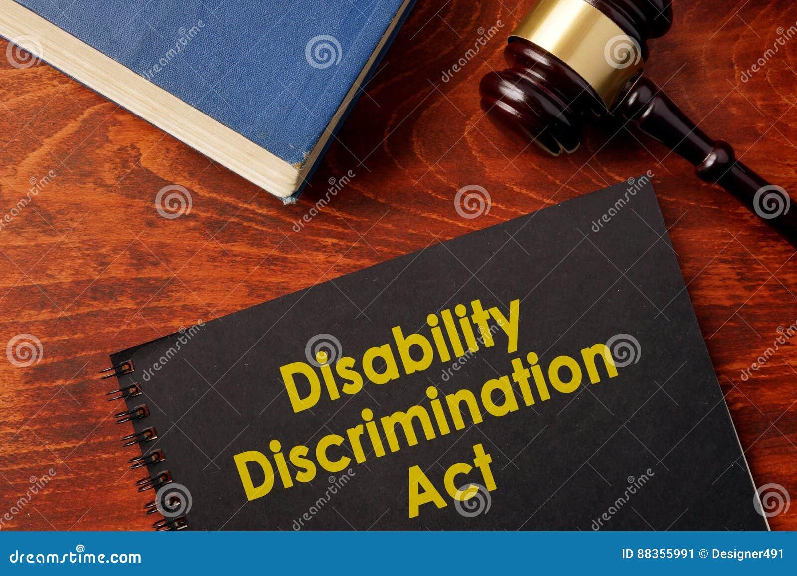 Ato DDA da discriminação da inabilidade