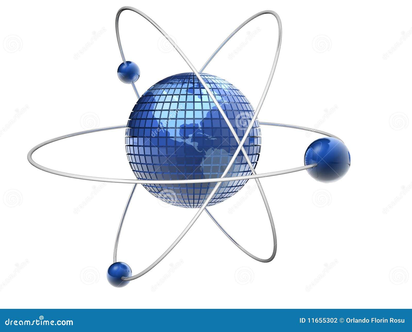Atom-Erde