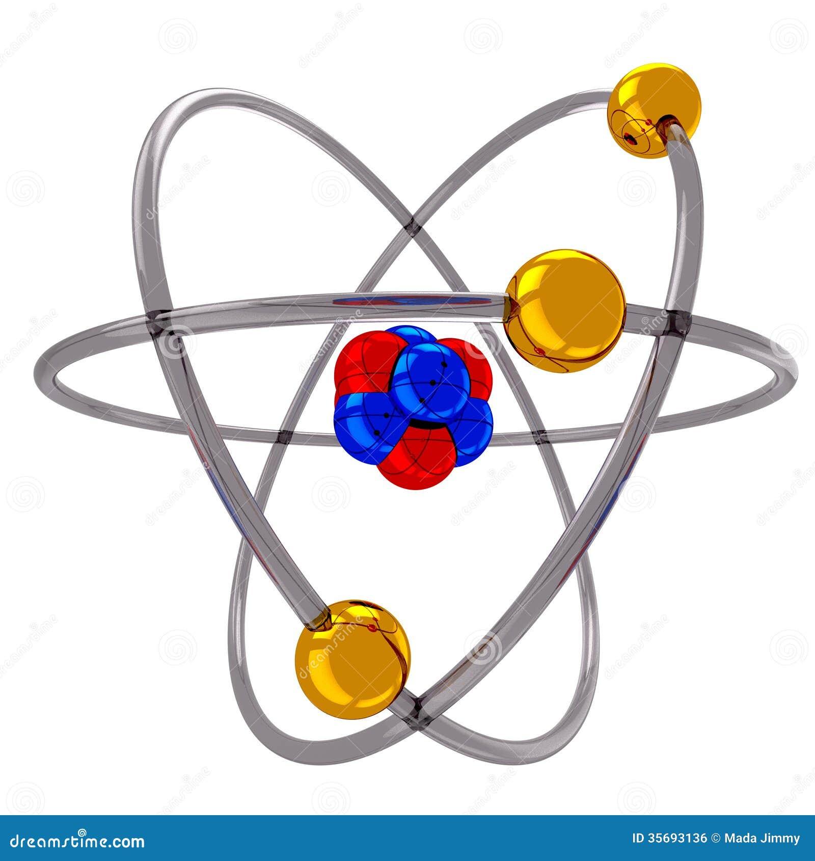 Atom Model Science Technology