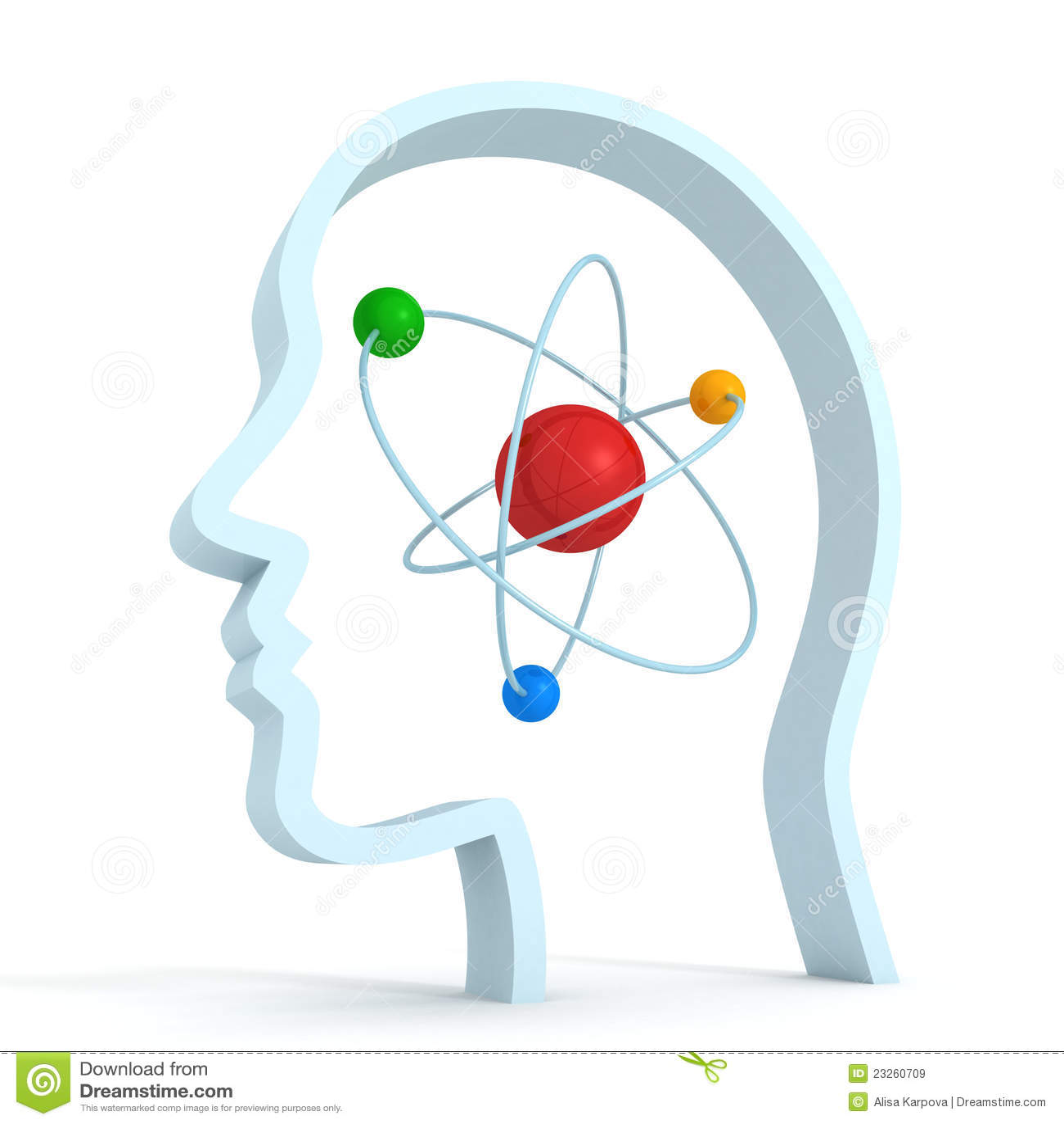 atom molecule science symbol brain human head royalty free Auguste Rodin The Thinker The Thinker Drawing