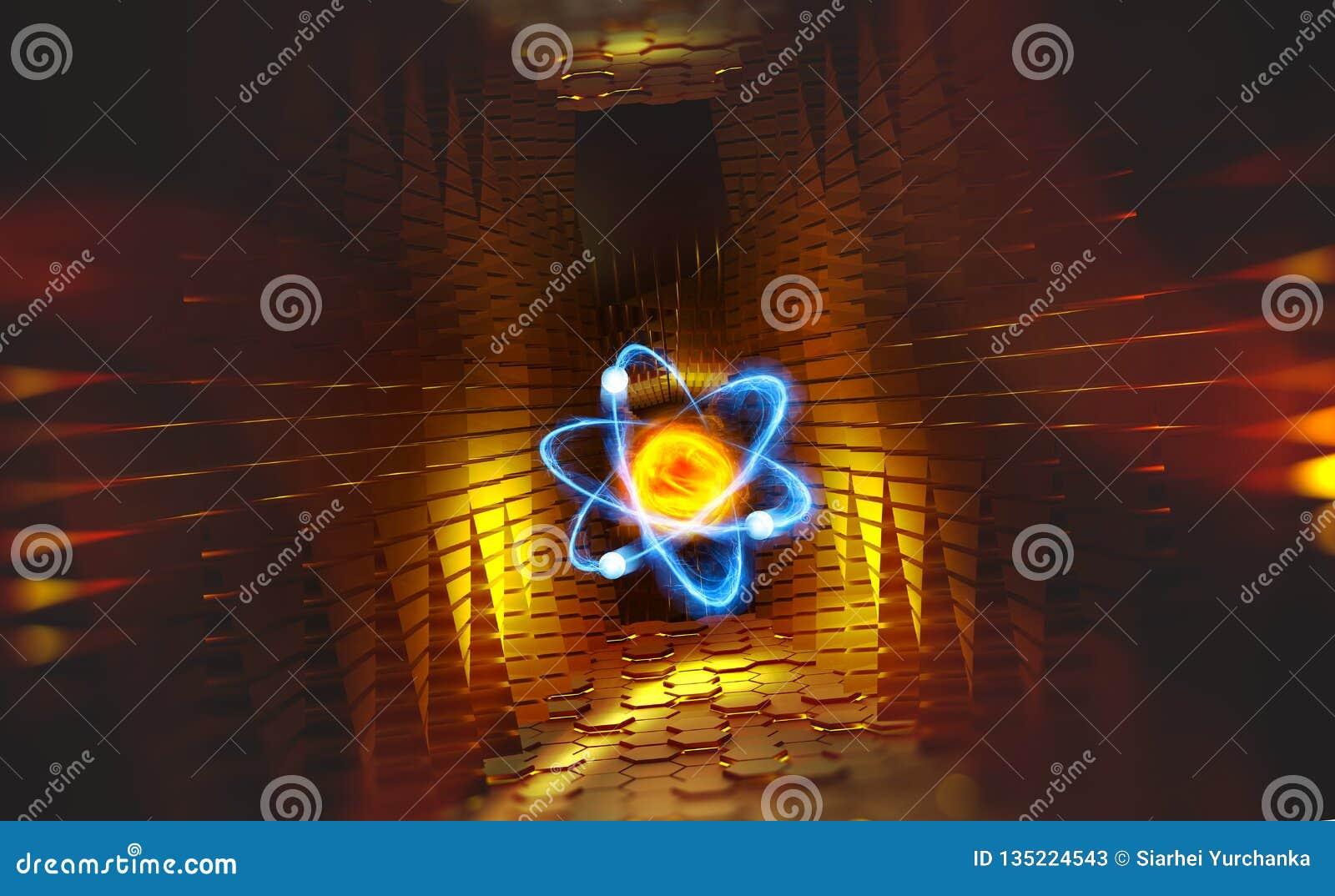 Atom Nauka struktura wszechświat Hadron Collider i przyszłość technologie