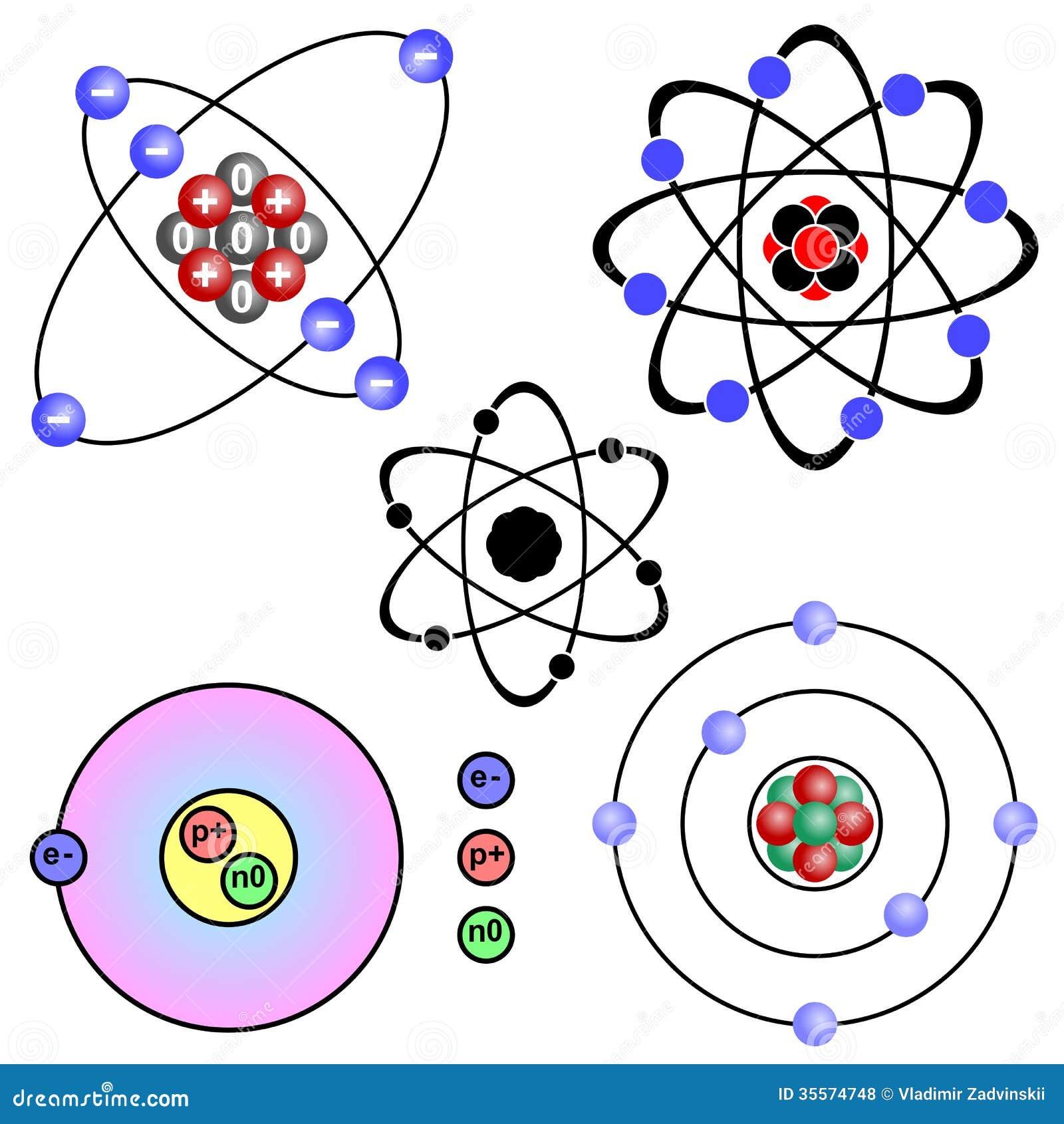 Atom stock vector illustration of symbol orbiting 35574748 royalty free stock photo ccuart Gallery