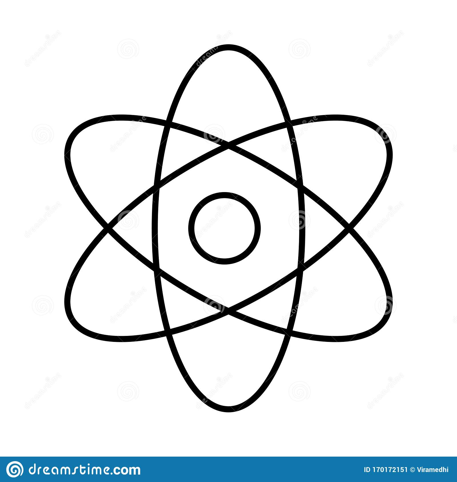 atom sign stock vector illustration of structure physics 170172151 https www dreamstime com atom structure studying science nuclear atomic scienctist chemistry sign energy symbol molecule physics technology image170172151