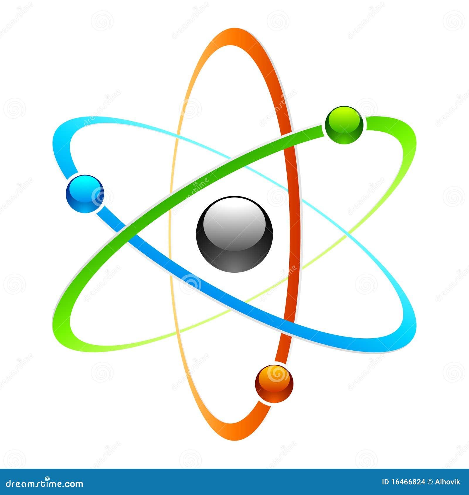 Картинка атом