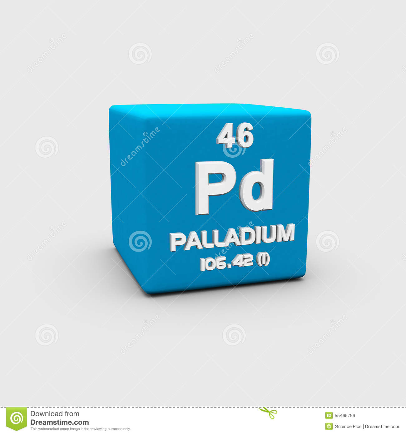 Ruthenium form periodic table of elements stock illustration atomic number palladium royalty free stock image gamestrikefo Choice Image