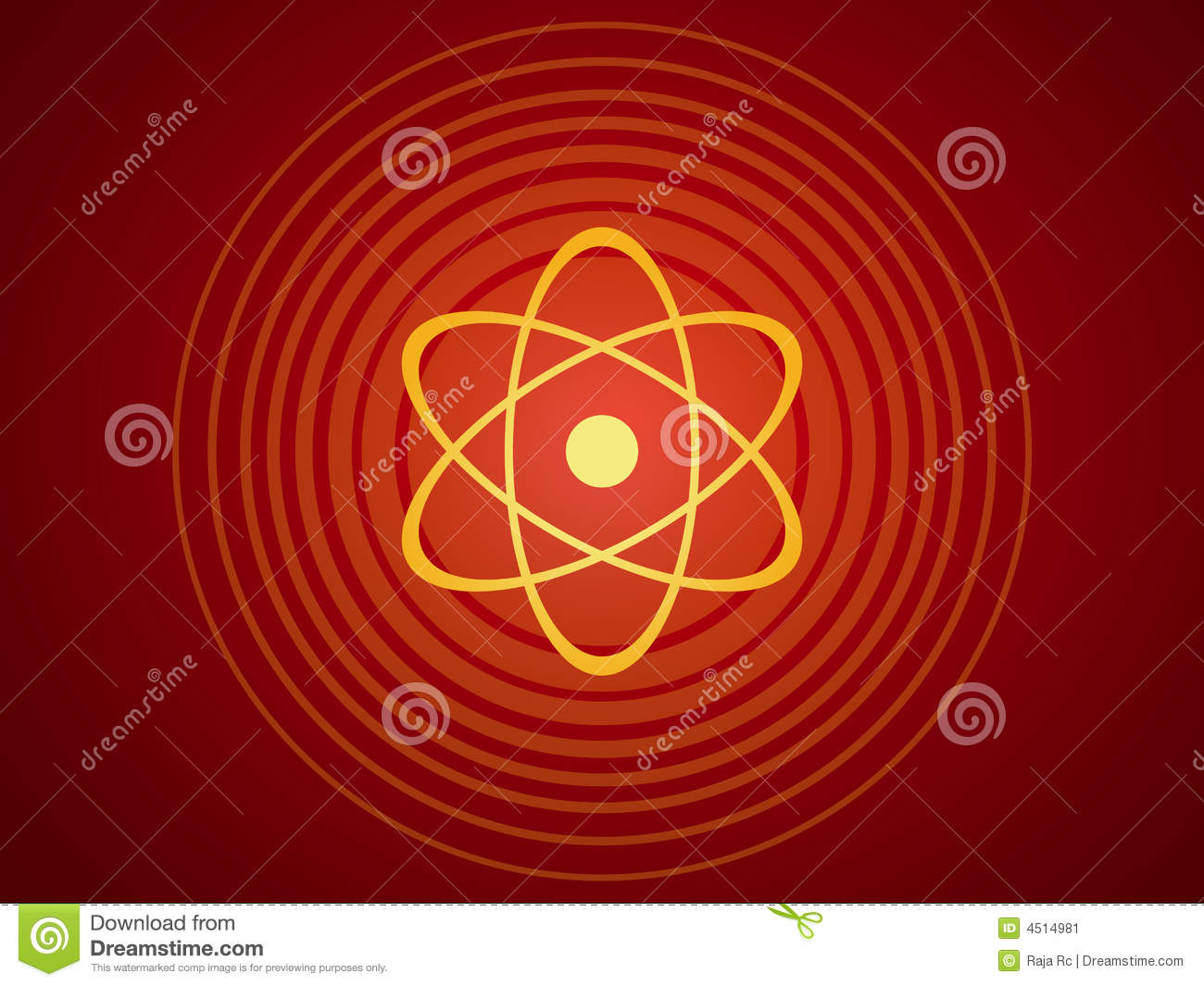 Atomic structure stock vector illustration of power travel 4514981 atomic structure ccuart Images