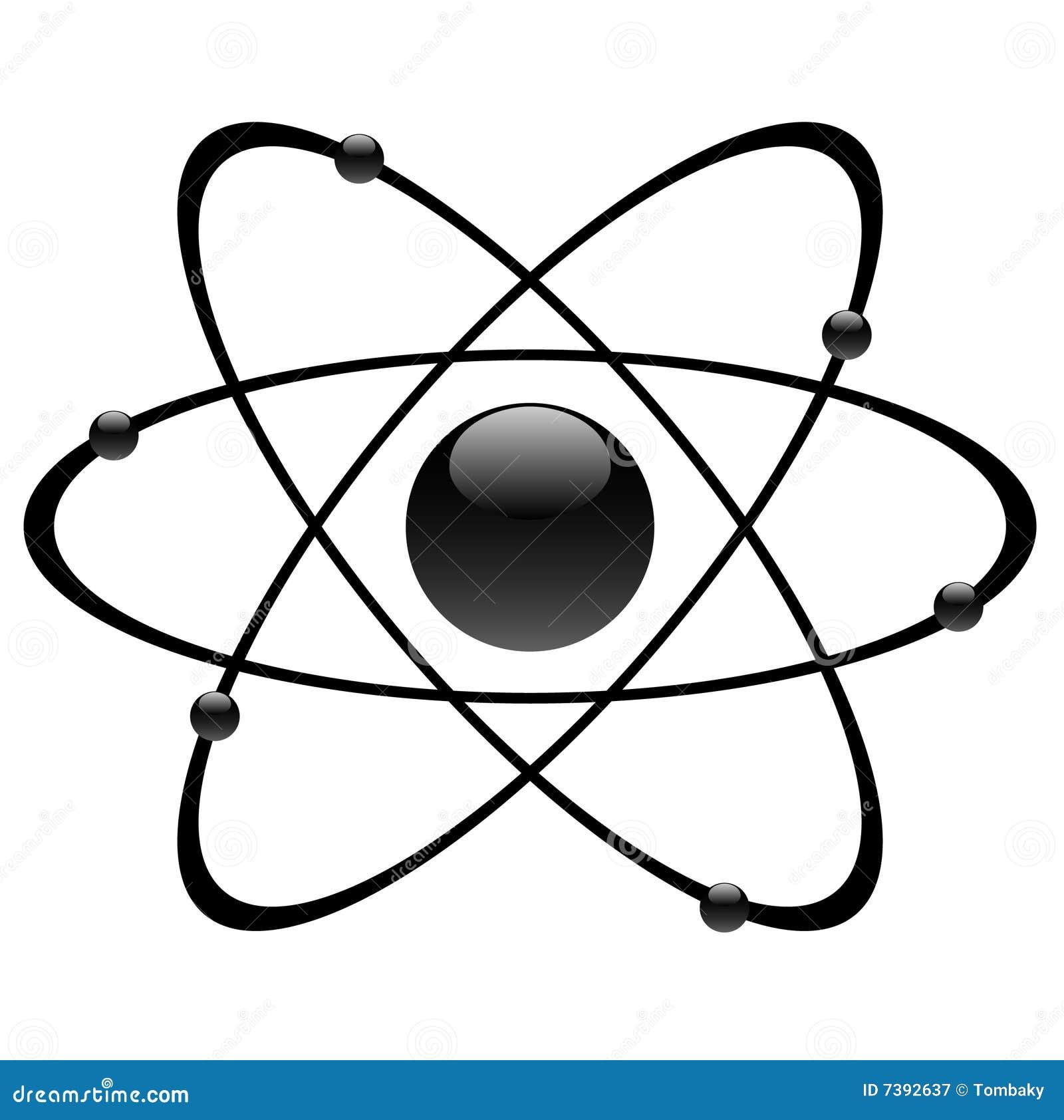 Atom Symbol Stock Vector Illustration Of Biology Nucleus 33491013