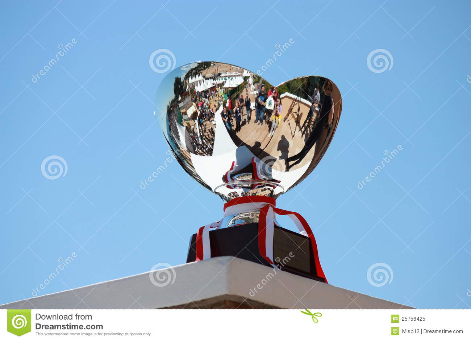 Atp Montecarlo Trophy Editorial Image  Image Of Coppa
