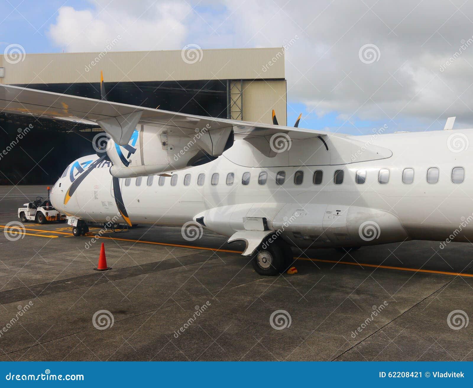 foto video austral linea aereo: