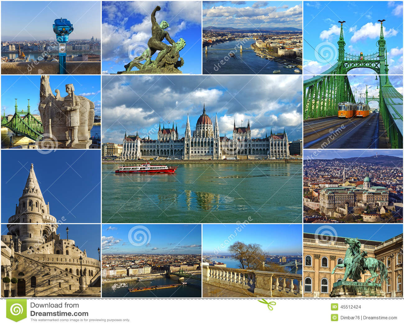 Atracciones Hist 243 Ricas De Budapest Hungr 237 A Collage Foto