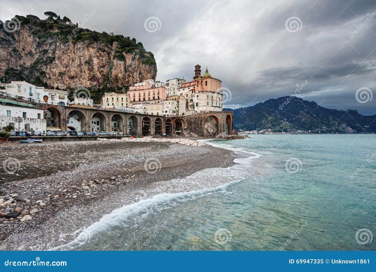 Atrani, Amalfi Kust (Italië)