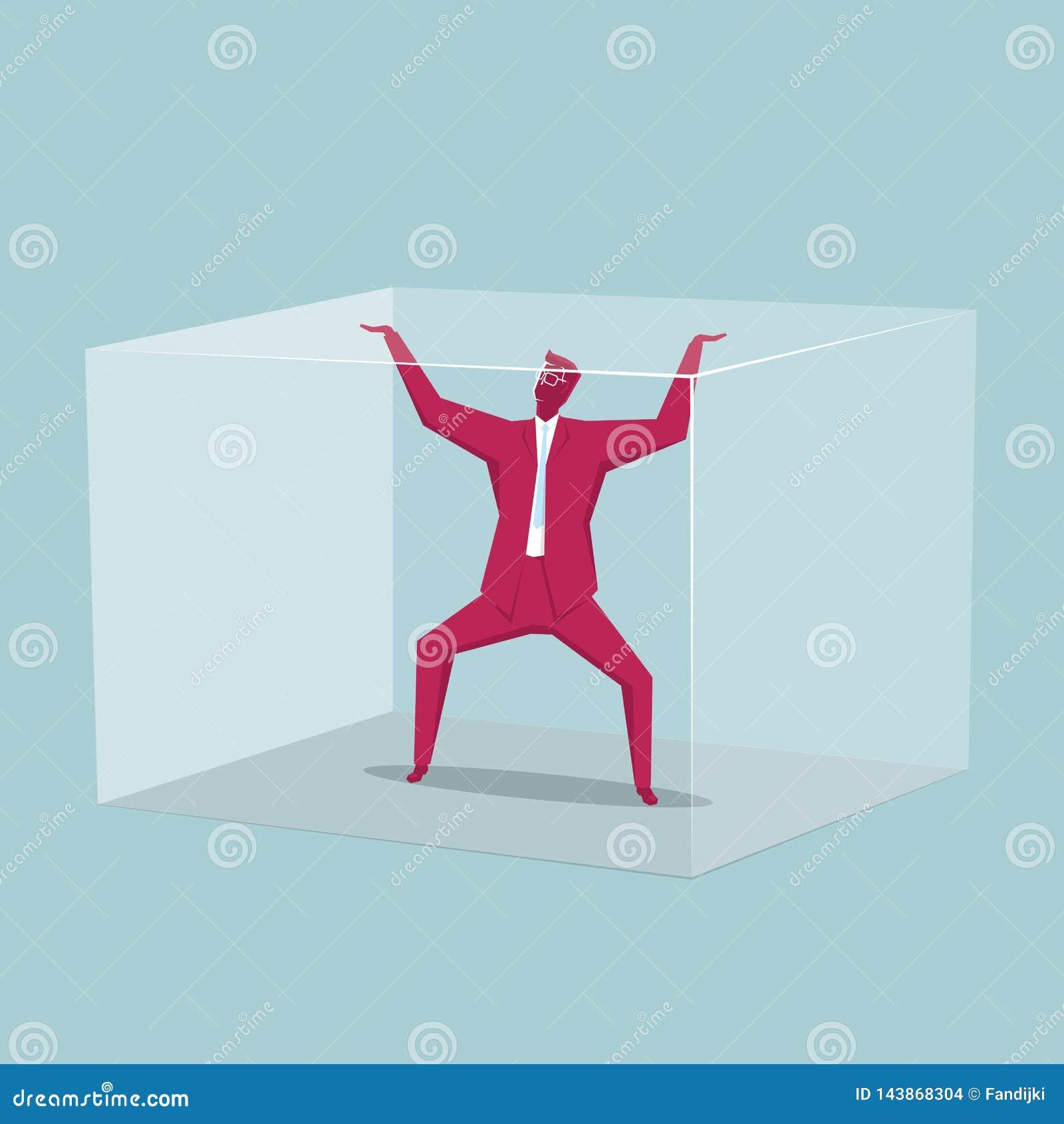 Atraparon al hombre de negocios en la caja
