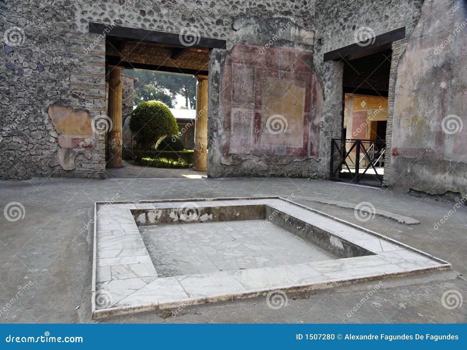 Atrium - Pompei