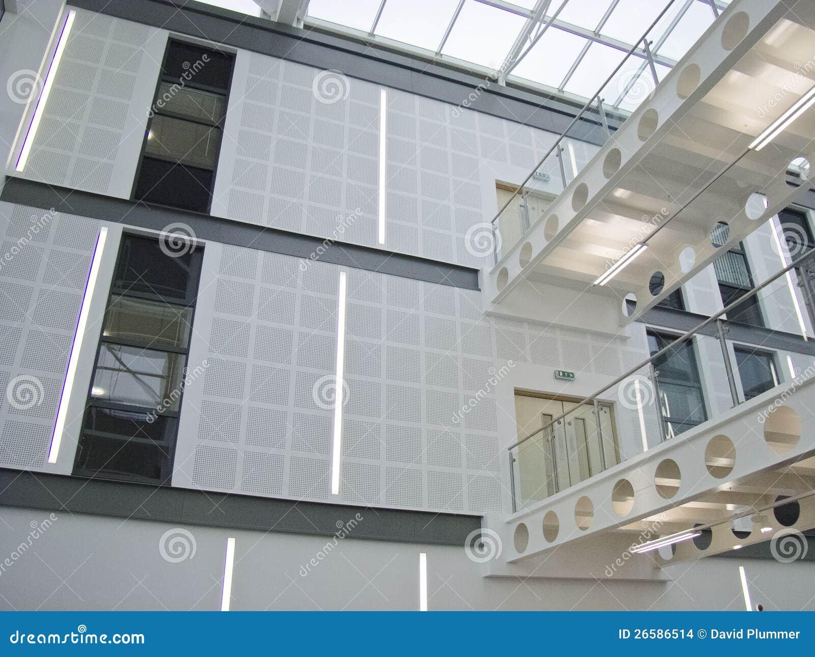Atrium Walkway Stock Photo Image Of Industry Buildings