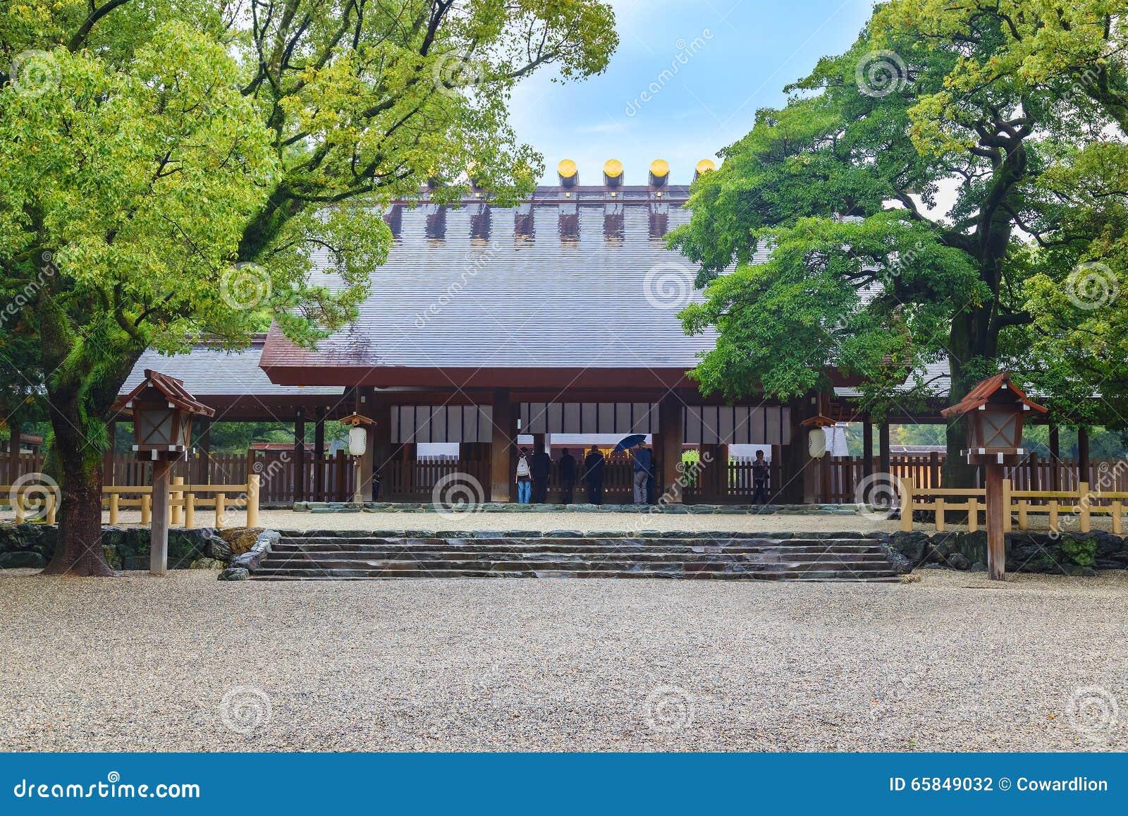 Atsuta-jingu (Atsuta Shrine) in Nagoya, Japan