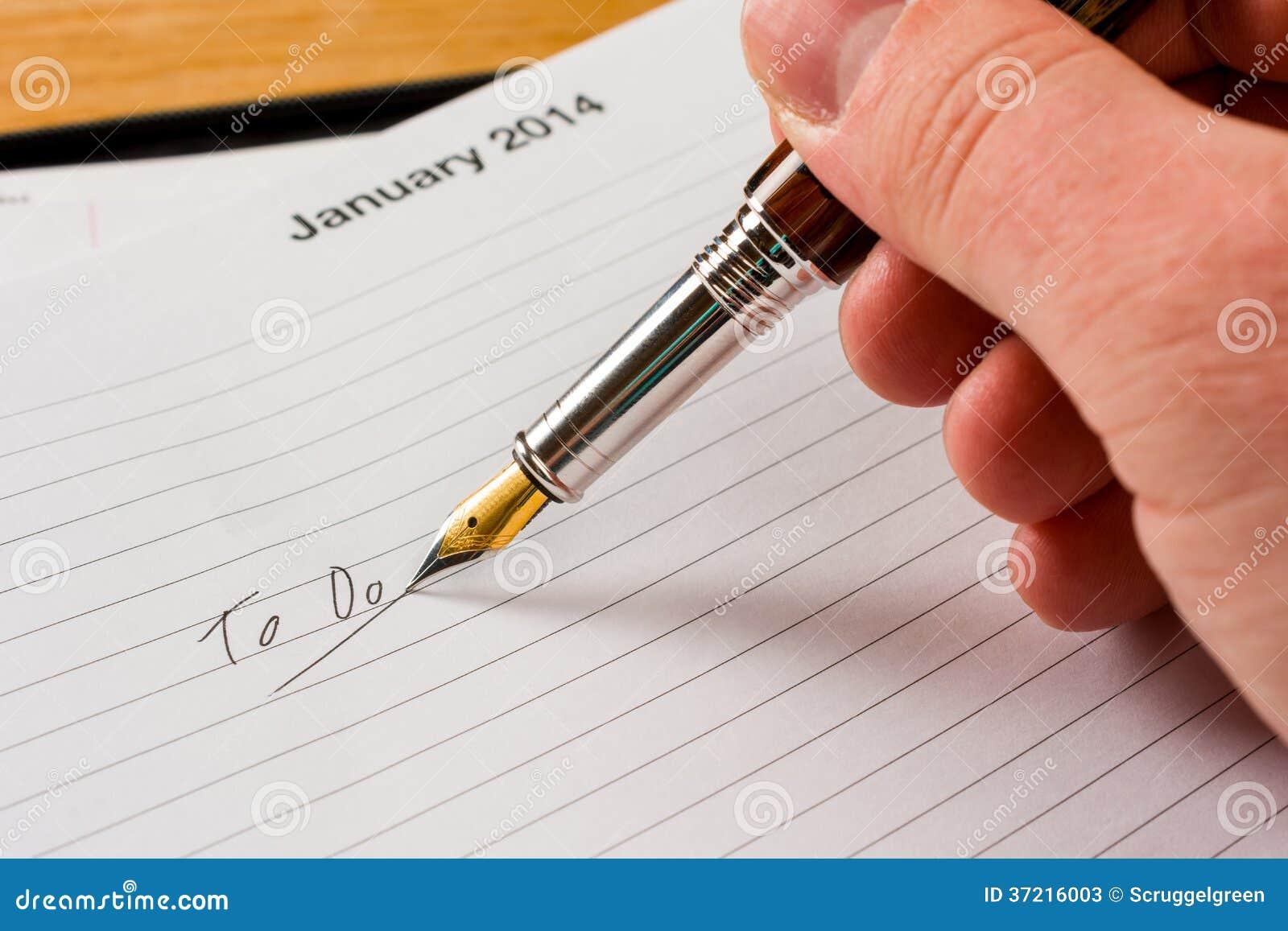 Att att göra listan