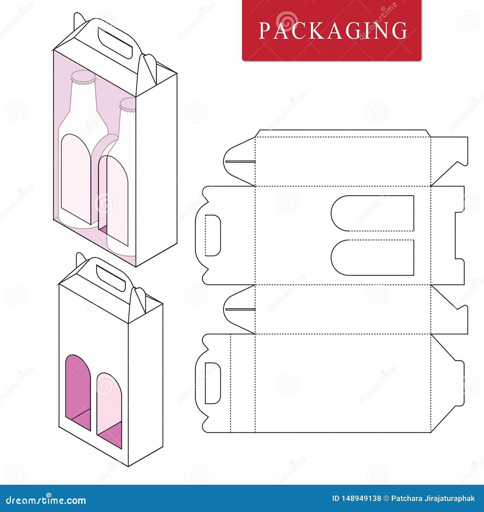 Att f?rpacka f?r kan buteljera Isolerad vit återförsäljnings- falsk upVectorillustration av asken
