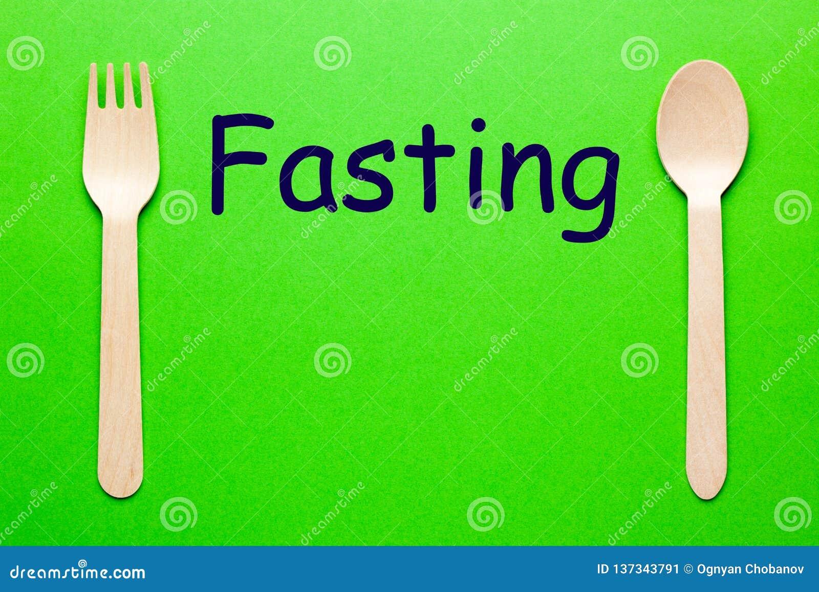 Att fasta äter begrepp
