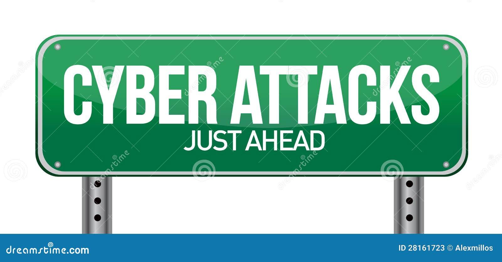 Attacchi cyber come concetto di tecnologia