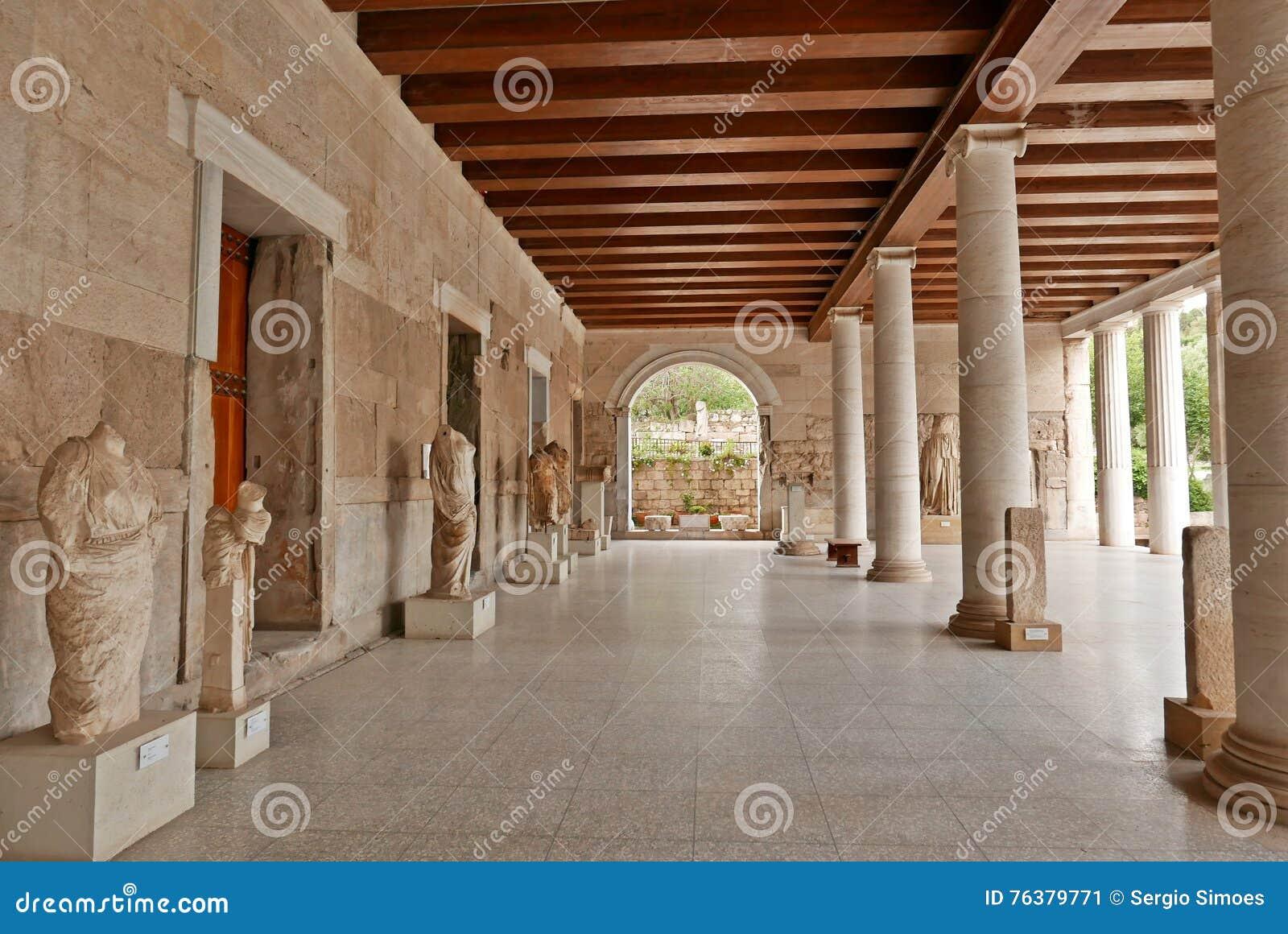 Attalos古老集市雅典Stoa
