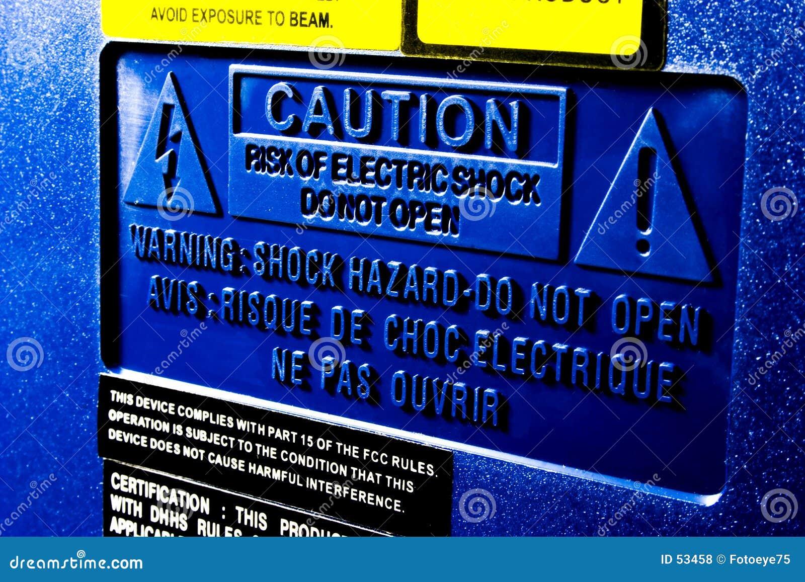 Download Attention photo stock. Image du signe, pouvoir, choc, électronique - 53458